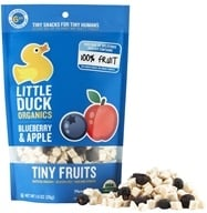Little Duck Organics - Blueberry Apple Tiny Fruit - 1 oz.