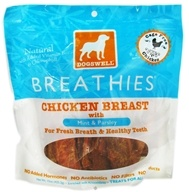 Image of Dogswell - Breathies With Mint & Parsley Chicken Breast Jerky - 15 oz. CLEARANCE PRICED
