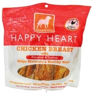 Dogswell - Happy Heart With Flaxseed & Taurine Chicken Breast Jerky - 15 oz. by Dogswell