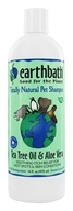 Earthbath - Pet Shampoo Tea Tree Oil & Aloe Vera - 16 oz. by Earthbath