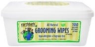Earthbath - Grooming Wipes With Awapuhi Hypo-Allergenic & Fragrance Free - 100 Wipe(s) - $10.08