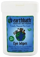 Image of Earthbath - Eye Wipes - 25 Wipe(s)