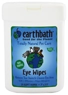 Earthbath - Eye Wipes - 25 Wipe(s) - $5.99