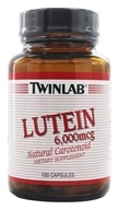 Twinlab - Lutein Natural Carotenoid 6000 mcg. - 100 Capsules, from category: Nutritional Supplements
