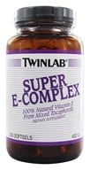 Twinlab - Super E-Complex 400 IU - 250 Softgels, from category: Vitamins & Minerals