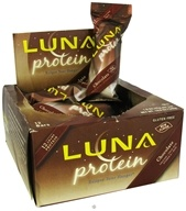Clif Bar - Luna Protein Bar for Women Chocolate - 1.6 oz.
