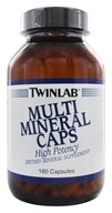 Twinlab - Multi Mineral Caps - 180 Capsules, from category: Vitamins & Minerals
