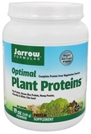 Jarrow Formulas - Optimal Plant Proteins Powder - 19 oz.
