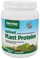 Jarrow Formulas - Optimal Plant Proteins Powder - 19 oz. - $11.99