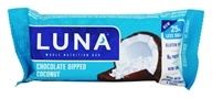 Image of Clif Bar - Luna Nutrition Bar for Women Chocolate Dipped Coconut - 1.69 oz.