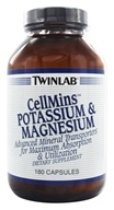 Twinlab - CellMins Potassium & Magnesium - 180 Capsules, from category: Vitamins & Minerals
