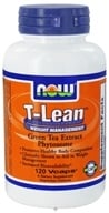 NOW Foods - T-Lean Weight Management Green Tea Extract Phytosome - 120 Vegetarian Capsules
