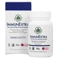 Allera Health Products - Immune Extra All Natural with Proligna Pine Cone Extract - 60 Vegetarian Capsules