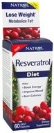 Natrol - Resveratrol Diet - 60 Capsules, from category: Nutritional Supplements