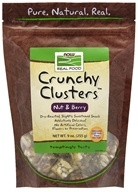 Image of NOW Foods - Crunchy Clusters Nut & Berry Crunch with Real Fruit - 9 oz.