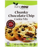 NOW Foods - Living Now Chocolate Chip Cookie Mix Gluten-Free - 17 oz.