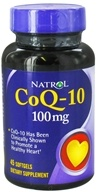 Natrol - CoQ-10 100 mg. - 45 Softgels