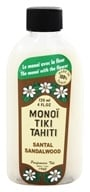 Image of Monoi Tiare Tahiti - Coconut Oil Sandalwood - 4 oz.