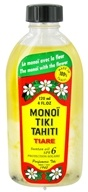 Monoi Tiare Tahiti - Coconut Suntan Oil Tiare (Gardenia) 6 SPF - 4 oz., from category: Personal Care