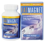 Natural Balance - Fat Magnet Fast Acting Weight Management - 72 Capsules (047868271142)