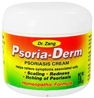 Dr. Zang - Homeopathic Psoria-Derm Psoriasis Cream - 4 oz. CLEARANCE PRICED