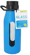 Image of Takeya USA - Classic Glass Water Bottle Cobalt Blue - 16 oz.