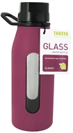 Image of Takeya USA - Classic Glass Water Bottle Purple - 16 oz.