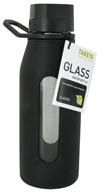 Takeya USA - Classic Glass Water Bottle Black - 16 oz. (885395130095)