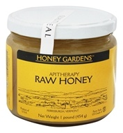 Honey Gardens Apiaries - Apitherapy Raw Honey - 1 lb. by Honey Gardens Apiaries