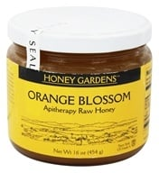 Honey Gardens Apiaries - Apitherapy Raw Honey Orange Blossom - 1 lb. - $8.88