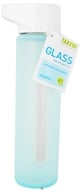 Image of Takeya USA - Modern Glass Water Bottle Ice Blue - 16 oz.