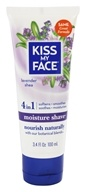 Image of Kiss My Face - Moisture Shave Lavender Shea - 3.4 oz.