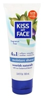 Kiss My Face - Moisture Shave Fragrance Free - 3.4 oz. (028367839309)
