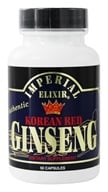 Imperial Elixir - Korean Red Ginseng 600 mg. - 50 Capsules