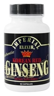 Imperial Elixir - Korean Red Ginseng 600 mg. - 50 Capsules, from category: Herbs
