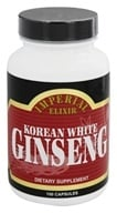 Imperial Elixir - Korean White Ginseng 1000 mg. - 100 Capsules (715783385021)