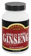 Imperial Elixir - Korean White Ginseng 1000 mg. - 100 Capsules, from category: Herbs