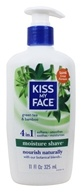 Image of Kiss My Face - Moisture Shave Green Tea & Bamboo - 11 oz.