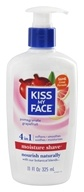 Kiss My Face - Moisture Shave Pomegranate Grapefruit - 11 oz. (028367839224)