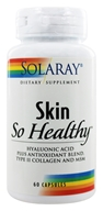 Solaray - Skin So Healthy Hyaluronic Acid Plus Antioxidant Blend - 60 Capsules - $16.33