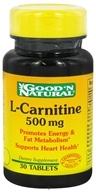 Good 'N Natural - L-Carnitine 500 mg. - 30 Tablets - $7.20