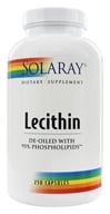 Solaray - Lecithin - 250 Capsules - $13.41