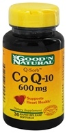 Good 'N Natural - Q-Sorb Co Q-10 600 mg. - 30 Softgels by Good 'N Natural