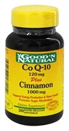 Good 'N Natural - Co Q-10 120 mg Plus Cinnamon 1000 mg. - 30 Softgels (698138171152)