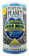 VegLife - Peaceful Planet Organic Inca Meal Sprouted Rice Protein Peruvian Vanilla - 12.6 oz. by VegLife