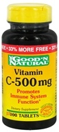 Good 'N Natural - Vitamin C-500 mg. - 133 Tablets, from category: Vitamins & Minerals