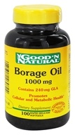 Good 'N Natural - Borage Oil 1000 mg. - 100 Softgels - $12.25