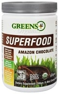 Image of Greens Plus - Organic Amazon Chocolate Powder - 8.46 oz.
