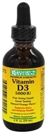 Good 'N Natural - Vitamin D3 Natural Orange Flavor 5000 IU - 2 oz. (698138304055)