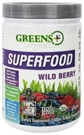 Greens Plus - Organic Wild Berry Powder - 8.46 oz. DAILY DEAL by Greens Plus